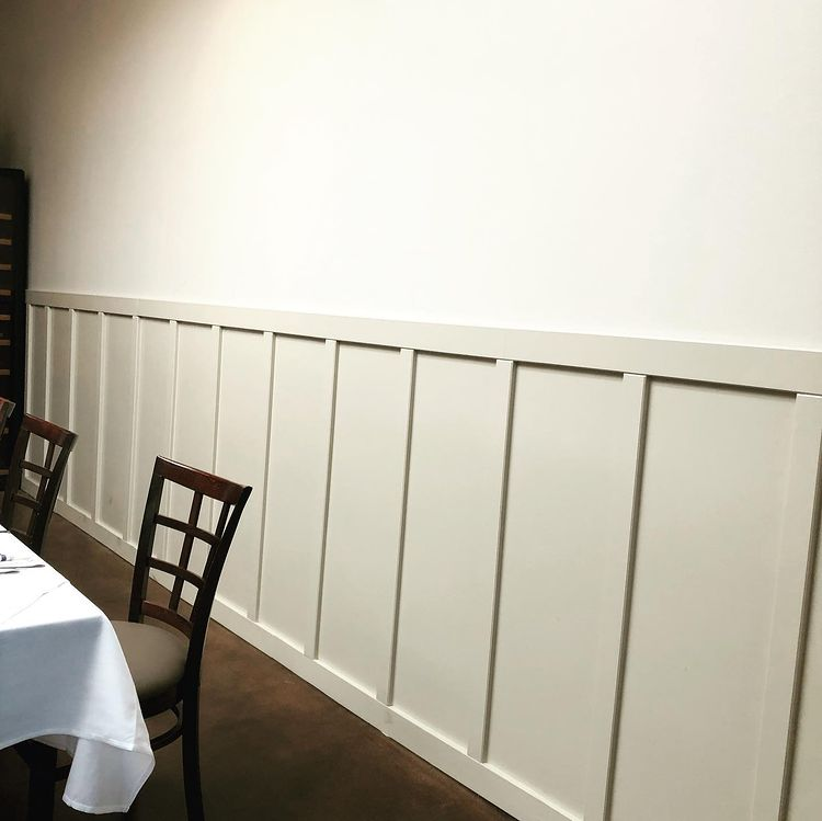 Custom Wainscoating Panels for Olivers Osteria